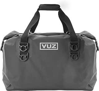 VUZ Moto Dry Duffle Motorcycle Tail Bag, Waterproof Motor-Bike Luggage, 45-Liters
