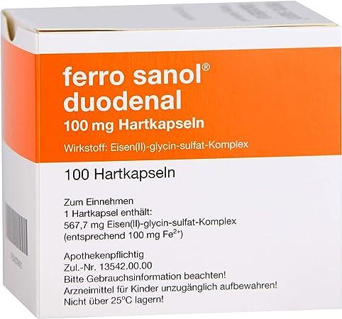 Sanol eisentabletten nebenwirkungen ferro Eisenmangel: ferro