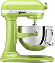KitchenAid KP26M1XGA 6 Qt. Professional 600 Series Bowl-Lift Stand Mixer - Green Apple