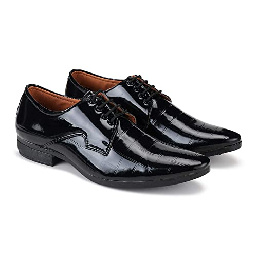 Earton Formal Shoes Slip On Office Shoes Party Shoes Lace Up Shoes Wedding Shoes Derby Shoes Leather Shoes Light Weight Comfortable Shoes For Men S Boy S Black Amazon In Shoes Handbags