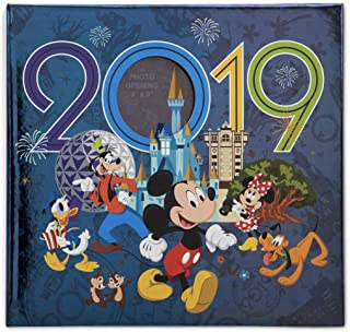 Walt Disney World 2019 Mickey Mouse Photo Album Holds 200 Photos