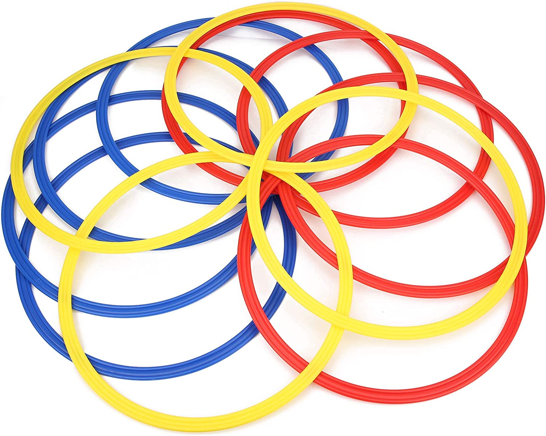 Ultra Max 59% OFF Thin Football Speed Agility 40cm Indianapolis Mall Agi Rings Soccer Training