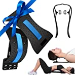 Stretch Recovery 3 in 1 Back Stretcher for Pain Relief with Neck Stretcher for Cervical Pain Relief, Lumbar Stretcher for Back Pain Relief Orthopedic for Spinal Decompression, 3 Level Back Massager