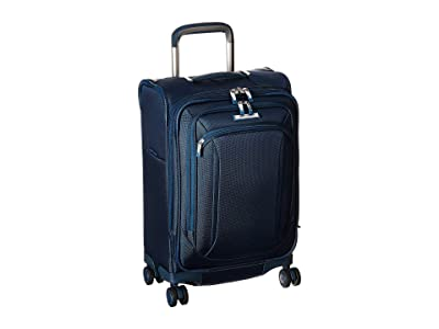 Samsonite Lineate Expandable C/O Spinner (Evening Teal) Luggage