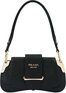 Luxury Fashion   Prada Womens 1BD196VOJGNZVF0002 Black Shoulder Bag   Fall Winter 19