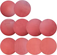Sackorange 30 PCS 12-Inch NO-Hole PSA Aluminum Oxide Sanding Disc, Self Stick(3 Each of 120 180 240 320 400 600 800 1000 1500 2000)
