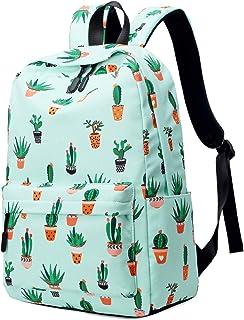 Mochilas Escolares Juveniles Niña, Mochila Escolar para Chica (Cactus)
