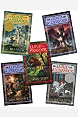 The Chronicles of Prydain 5 Volume Set:The Book of Three, The Black Cauldron, The Castle of Llyr, Taran Wanderer, The High King Paperback