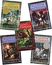 The Chronicles of Prydain 5 Volume Set:The Book of Three, The Black Cauldron, The Castle of Llyr, Taran Wanderer, The High...