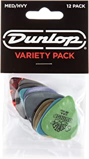 Dunlop PVP102 Pick Variety Pack, Assorted, Medium/Heavy,...