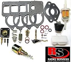 RADKE SERVICES Compatible with VW Solex 28 Thru 34 Pict 3 Complete Carburetor Rebuild Kit With Cut Off Valve