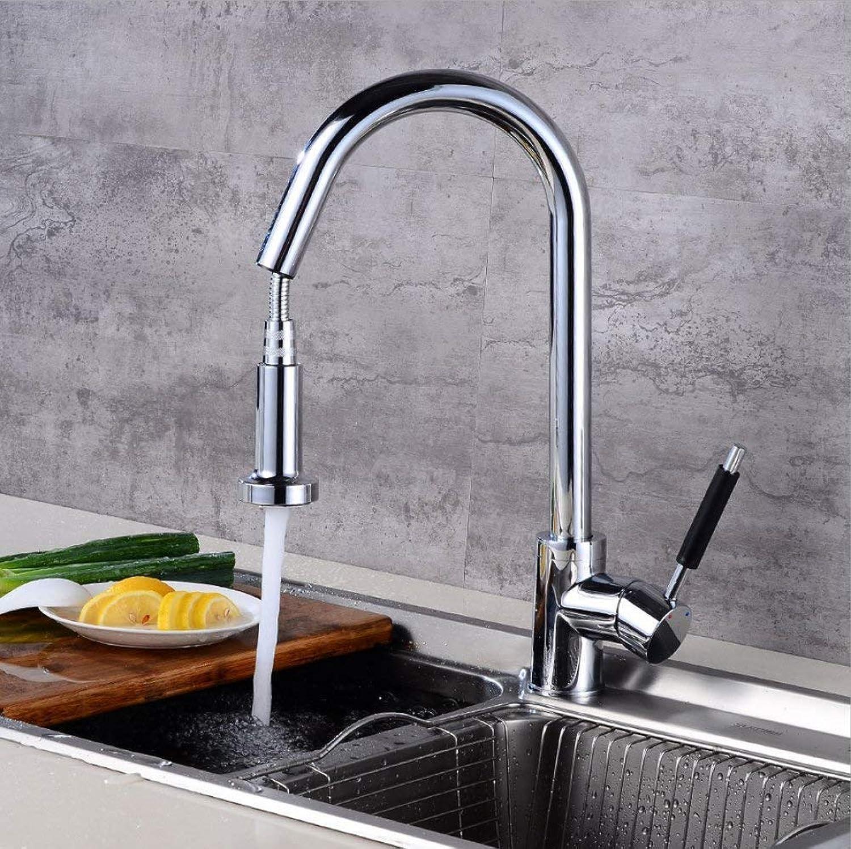 GONGFF Waschtischarmaturen Wasserhahn Europischen Küchenarmatur Waschbecken Wasserhahn Pull Wasserhahn Schwenk Wasserhahn heien und kalten Wasserhahn Mischwasserhahn einzigen Wasserhahn