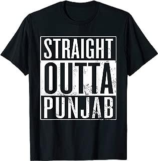 Straight Outta Punjab India T-Shirt
