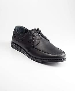 Polaris 5 Nokta 91.110436.m Siyah Erkek Deri Klasik Ayakkabı