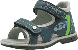 Apakowa Kids Summer Shoes Toddler Boys Sandals with Arch Support