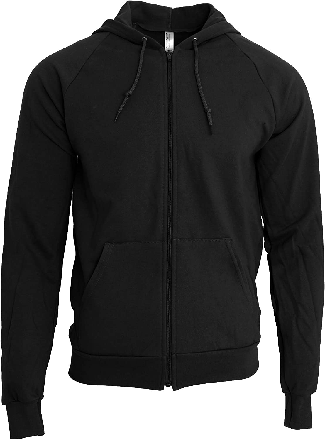 American Apparel Unisex California Zip Hooded Sweatshirt