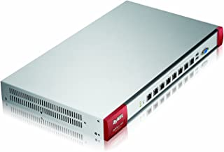 Zyxel High Performance 2GbE SPI/500Mbps VPN Firewall with 200 IPSec and 50 SSL VPN, 8 GbE Ports and High Availability (ZyW...