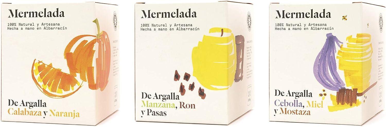De Argalla - Mermelada Artesana de Manzana Golden, Ron Negro ...