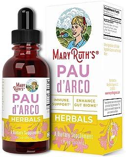 PAU D'Arco Blend by MaryRuth's | Herbal PAU D'Arco Tincture with Reishi Mushroom, Echinacea, Usnea Lichen | PAU D'Arco Sup...