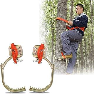 GBHJJ klättra träd artefakt, rostfritt stål klättring halkfri trädgilisar, för att titta på jakt, frukt pluntkakor, kokosn...