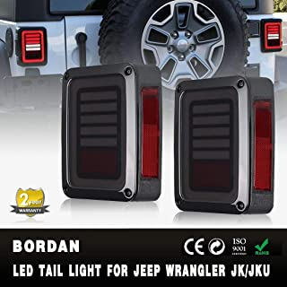 Pair Wrangler YJ RAMPAGE PRODUCTS 5307 Taillight Conversion Kit w//Euro Lenses for 1976-2006 Jeep CJ LJ /& TJ Brite