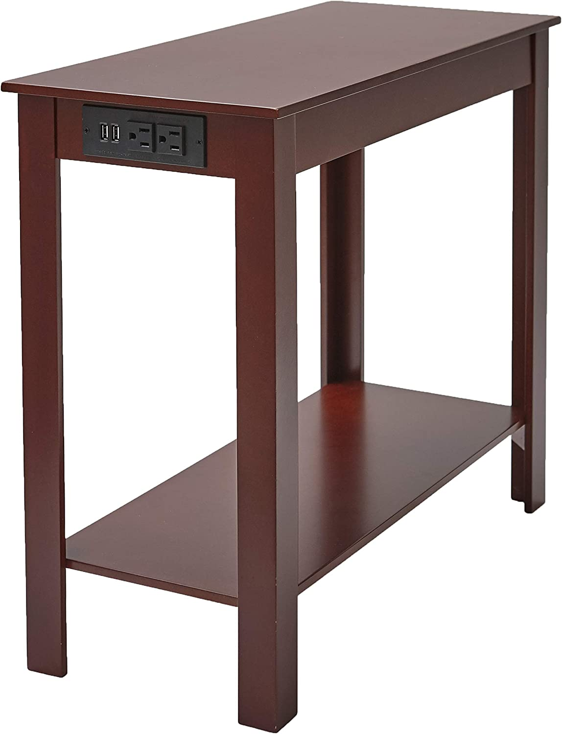 Side Table with Popular popular Power 55% OFF Station - End Office Outlets