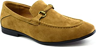 Classique Mens New Slip On Suede Loafers Moccasins Formal Shoes UK Size 6-12