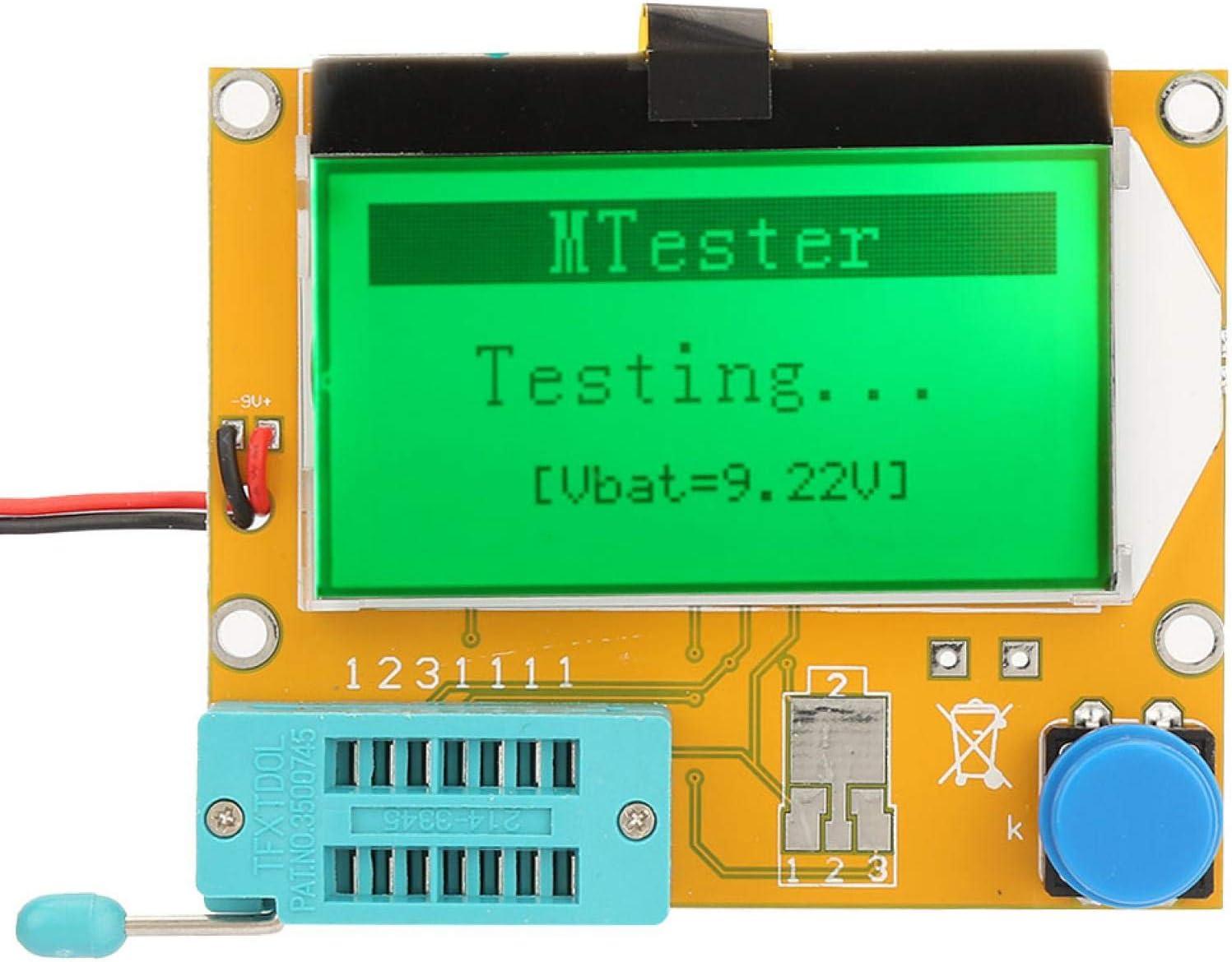 Max 49% OFF Jeanoko Capacitor Tester 0.1 On Sale price Resolution Transistor ohm