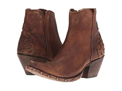 Ariat Fenix (Naturally Distressed Brown) Cowboy Boots