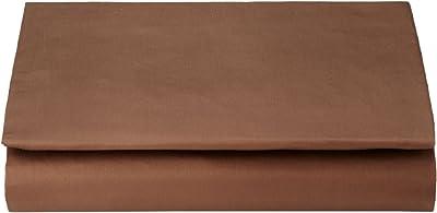 西川リビング <24+> ベッド フィッティ パック シーツ シングル 100×200×40cm TFP-06 ブラウン 2120-06001