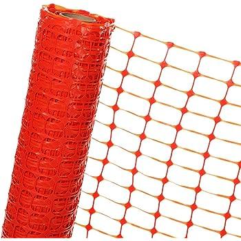 Filet de s/écurit/é 49 ft H 1 x L 15 m 3 ft Woodside Orange Tissu Mesh//Plastique Animaux