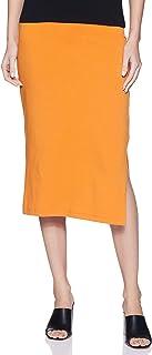 Amazon Brand - Symbol Women's Pencil Midi Skirt