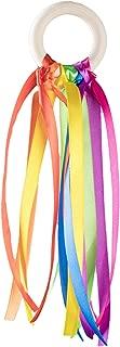 ASVP Shop Montessori Style Sensory Toy – Baby Ribbon Ring - for Newborns Upwards - Develop Colour Recognition - Sensory ADHD Autism