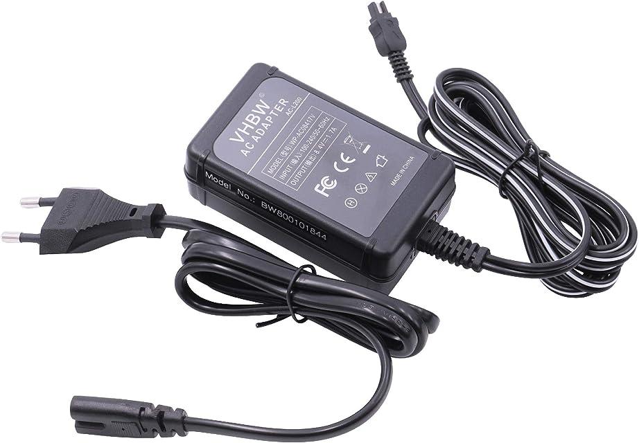 Cargador para CÁMARA Compatible con Sony sustituye AC-L20 AC-L20A AC-L20B AC-L25 AC-L25A AC-L25B AC-L200