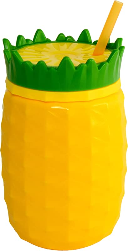 Cool Gear Pineapple Chiller 16 Oz Yellow