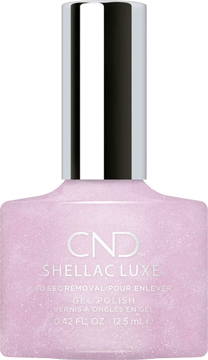 ジャンル表面スキルCND Shellac Luxe - Lavender Lace - 12.5 ml / 0.42 oz