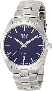 تيسوت ساعة رسمية رجال انالوج بعقارب ستانلس ستيل - T1014101104100