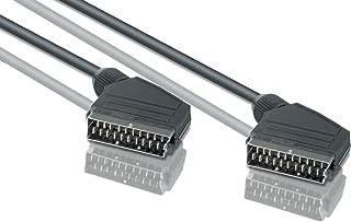 Video-Kabel 1,5 m SCART schwarz Neu Philips SWV 2540 T 10 TV Scartkabel Audio