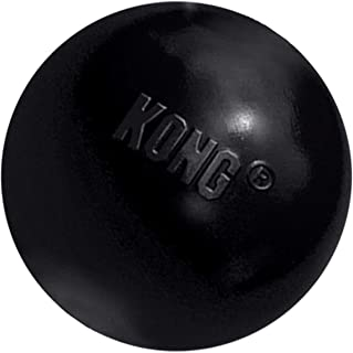comprar comparacion KONG - Extreme Ball - Juguete de Caucho para mandíbulas potentes, Negro - para Perros Medianos/Grande
