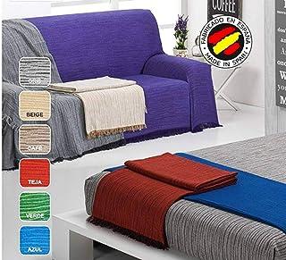 Hachette Manta de Forro Polar para sof/á de Cama Grande Color Gris 200 x 240 cm