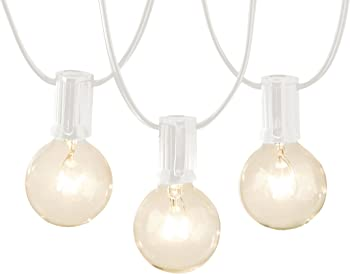 AmazonBasics 25-Foot Patio Lights in White