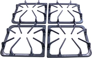 Kitchen Basics 101 Burner Grate Kit Replacement for Frigidaire AP3965768, 318221523, Set of 4 in Graphite Gray