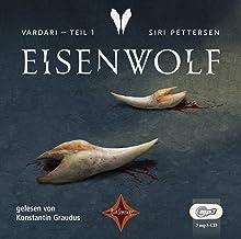 Vardari - Eisenwolf (Bd. 1): Vollständige Lesung, gelesen von Konstantin Graudus, 3 mp3-CD, ca. 18 Std. (Vardari, 1)