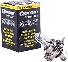 Brinkmann QBeam Replacement Bulb, Halogen Bulb for 800-2380-W Max Million III Rechargeable Spotlight