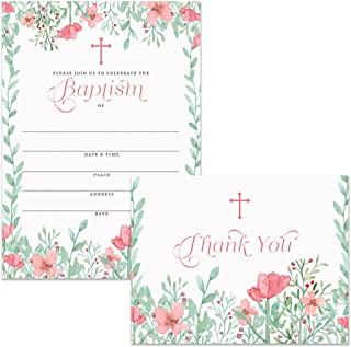 Best trendy christening invitations Reviews