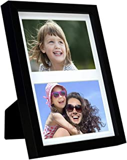 Gallery Picture Frame (7x9 with Two 4x6 Openings, Black)