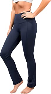 High Waist Soft Nude Tech Straight Leg Yoga Pants for Women