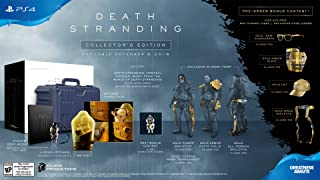 DEATH STRANDING Collector's Edition PS4 by Sony from USA. / GB.