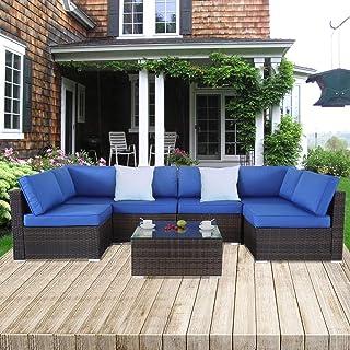 Amazon Com Patio Furniture Sets Patio Lawn Garden Conversation