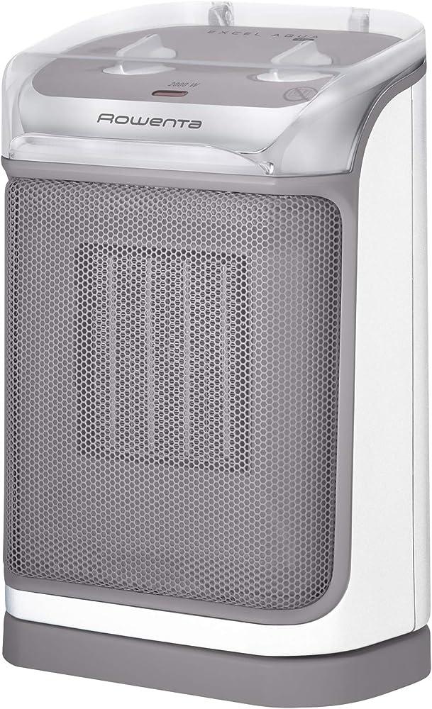 Rowenta excel aqua safe, termoventilatore ceramico, potente, silenzioso e sicuro, anche in bagno SO9280F0